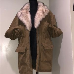 H&M Jacket With Fur